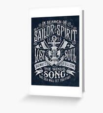 Sailor Spirit Grußkarte