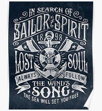 Sailor Spirit Poster