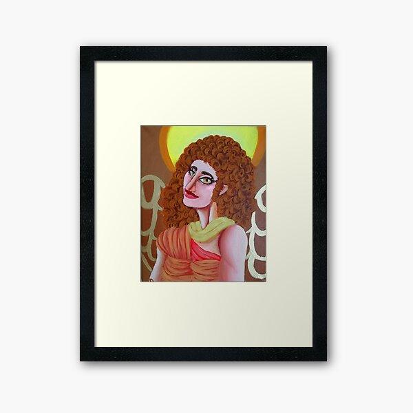 Saint Archangel Gabriel Framed Art Print