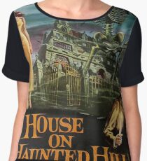 Vintage poster - House on Haunted Hill Chiffon Top