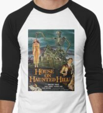 Vintage poster - House on Haunted Hill Men's Baseball ¾ T-Shirt