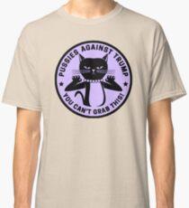 Pussies Against Trump Purple Classic T-Shirt