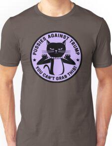 Pussies Against Trump Purple Unisex T-Shirt