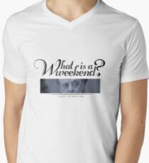 Downton Abbey, Violet, What is a weekend? Men's V-Neck T-Shirt