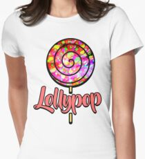 Lollypop  Women's Fitted T-Shirt