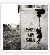 Free your soul Sticker