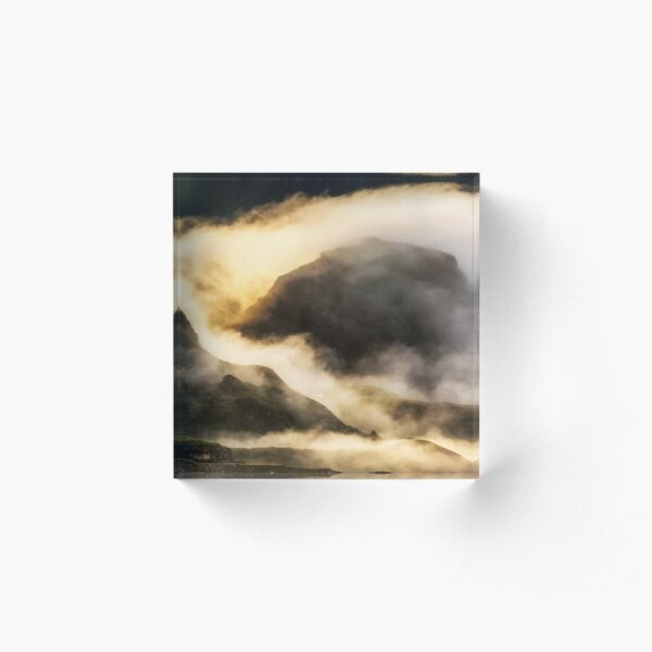 Magic Sunrise Acrylic Block