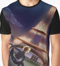 Chat Noir Miraculous Lady Bug Graphic T-Shirt