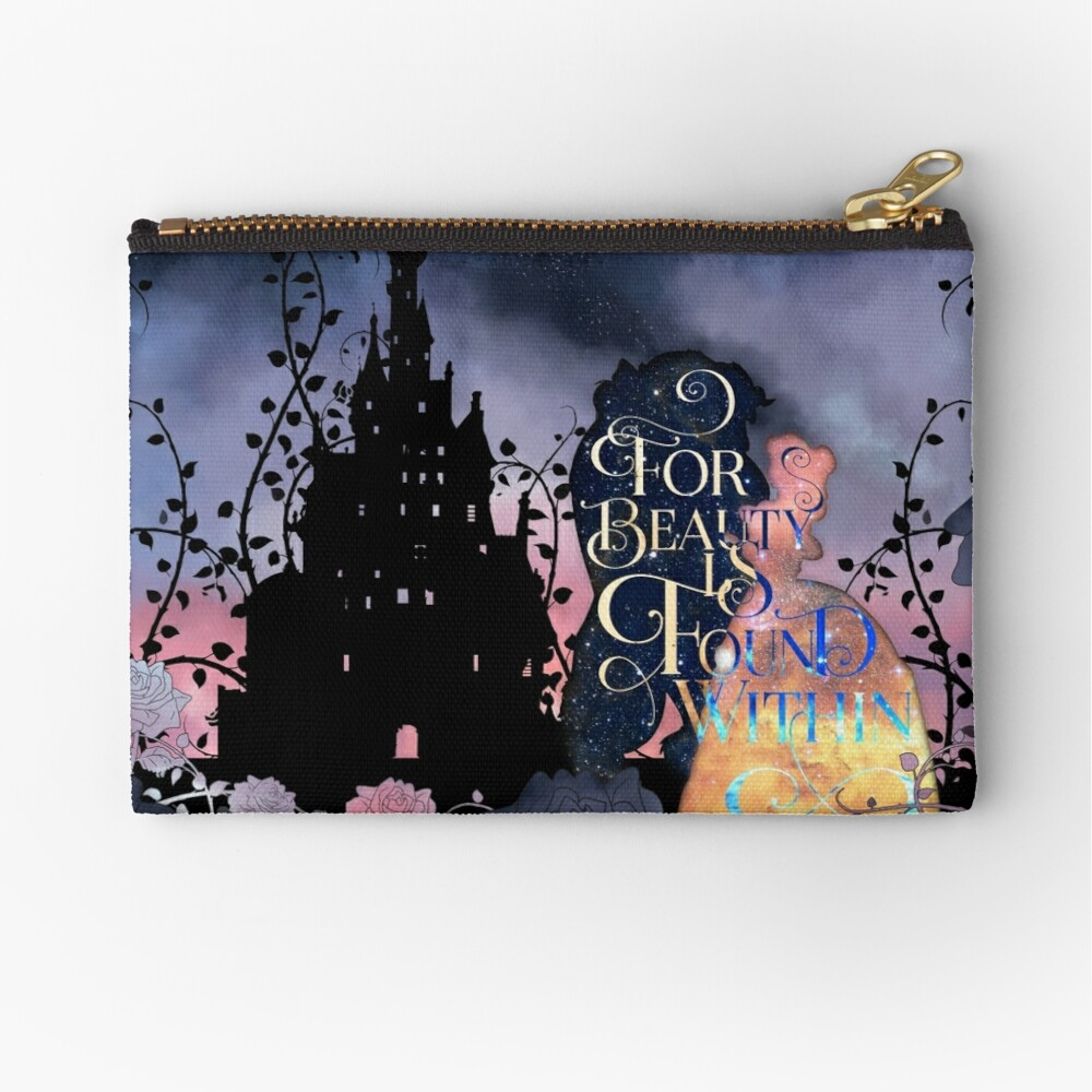 For Beauty is Found Within Zipper Pouch