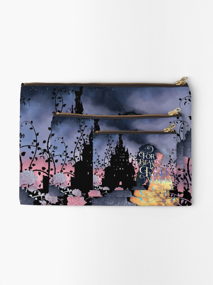 Alternate view of For Beauty is Found Within Zipper Pouch