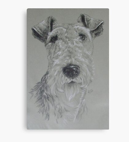 Wire-haired Fox Terrier Canvas Print