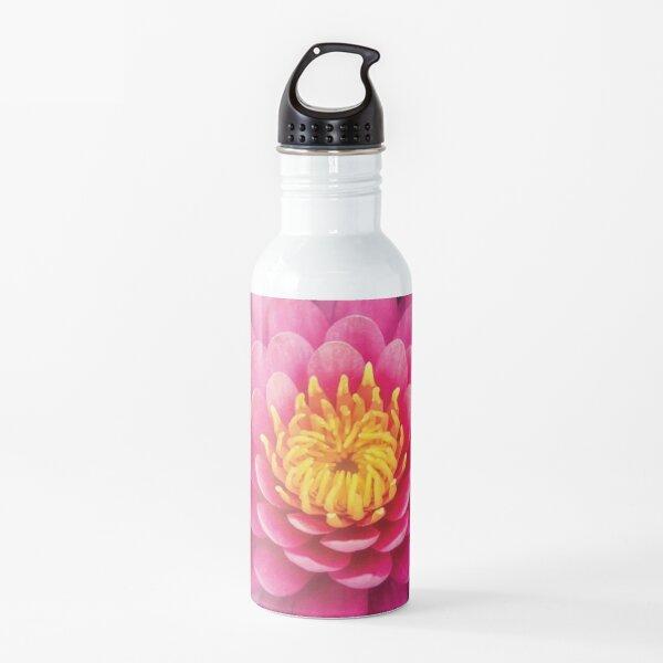 Pink Lotus Flower Water Bottle