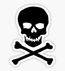 Skull and cross bones (Pirate) Sticker
