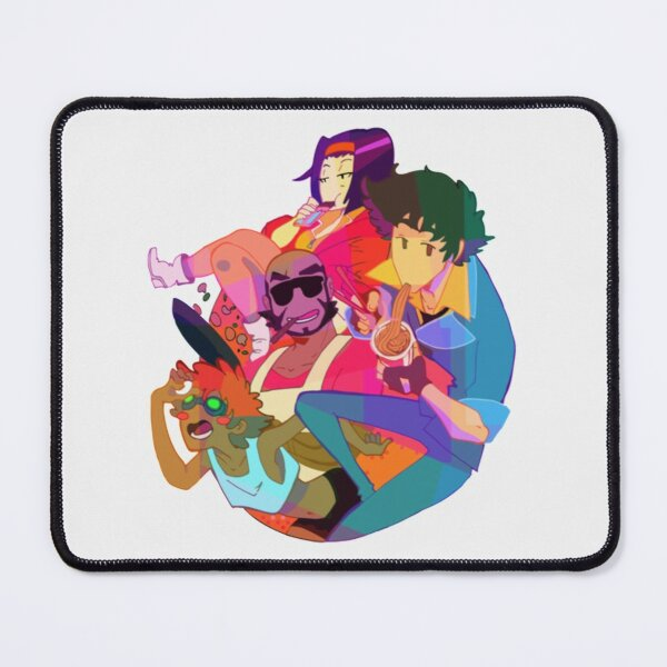 Colorful Cowboy Bebop  Perfect Gift Mouse Pad