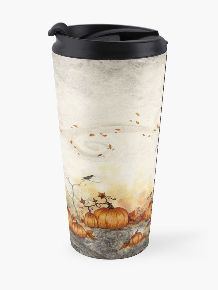 Alternate view of Whispers in the Pumpkin Patch Travel Mug