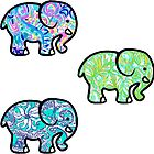 Elephant Tri Pack #2 by authenticity