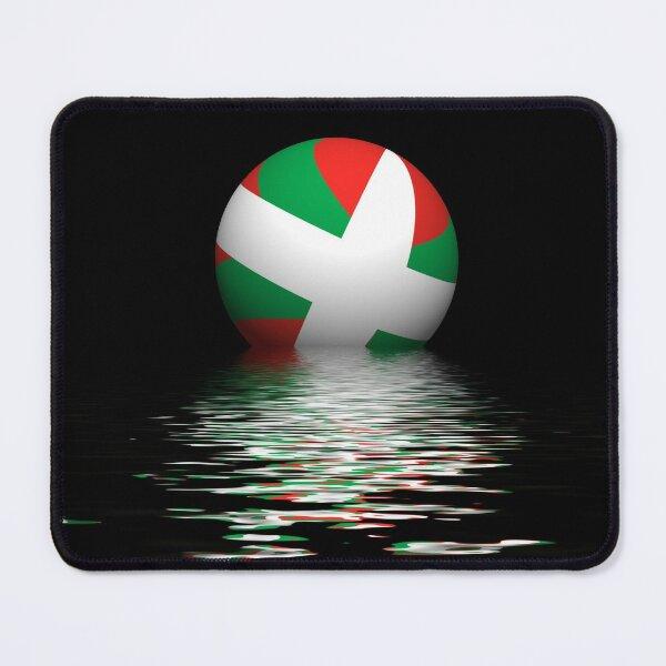 Basque flag setting / rising Mouse Pad