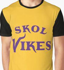 Skol Vikes Graphic T-Shirt