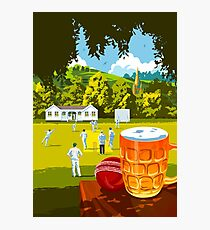 Village Cricket Photographic Print