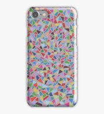 Stain Glass Window Silver iPhone Case/Skin