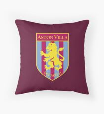 aston villa Throw Pillow