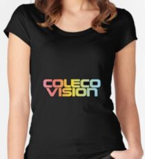 ColecoVision logo Women's Fitted Scoop T-Shirt