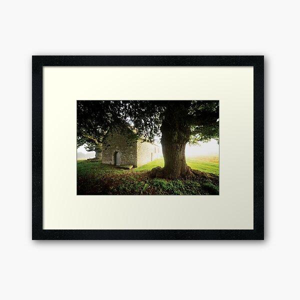 The Old Church Framed Art Print
