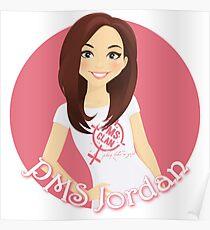 PMS Jordan Poster