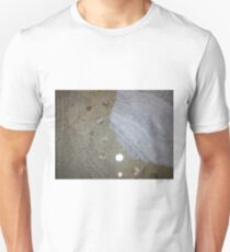 bicycling on the beach Unisex T-Shirt