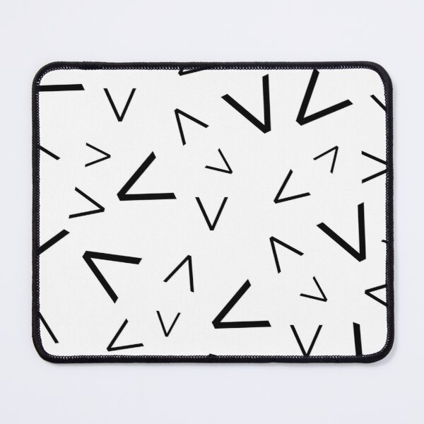 Graphic Spikes Pattern Mouse Pad