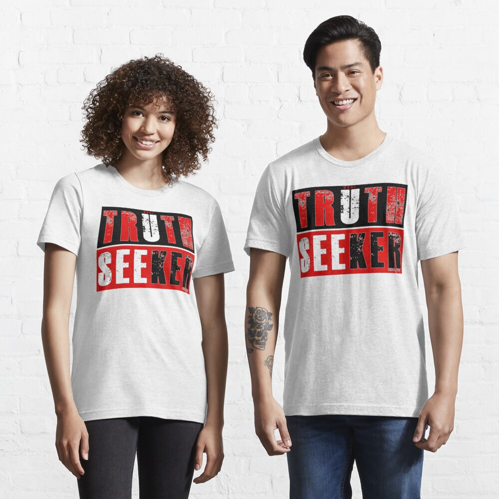 Real Truth-Seeker (Red) Essential T-Shirt