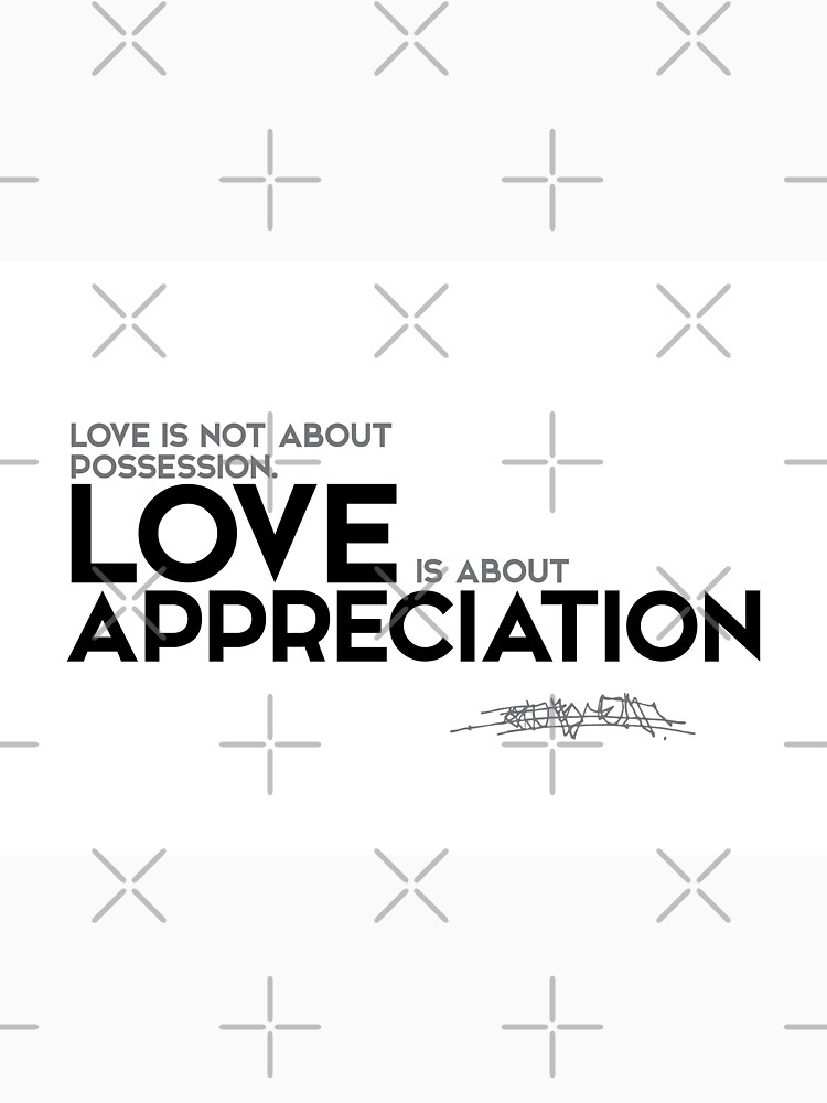 Love Is About Appreciation Osho Unisex T Shirt By Razvandrc
