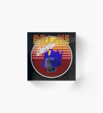 80's Retro Optimus Prime Acrylic Block