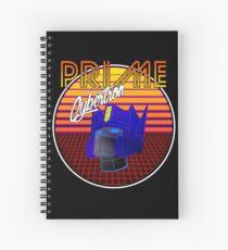 80's Retro Optimus Prime Spiral Notebook