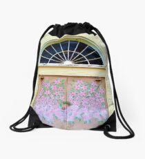 Painted Blossoms Drawstring Bag