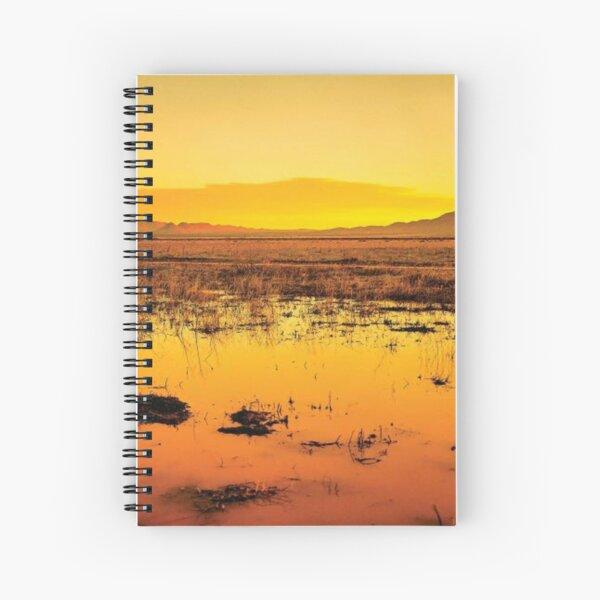 Western Sunset Spiral Notebook