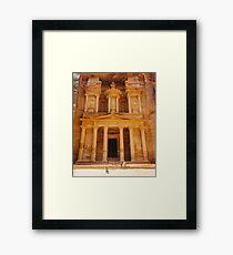 Petra / Jordan Framed Print