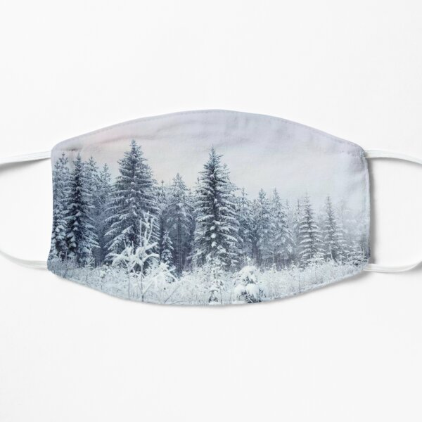 Where Christmas Trees Are Born Flat Mask