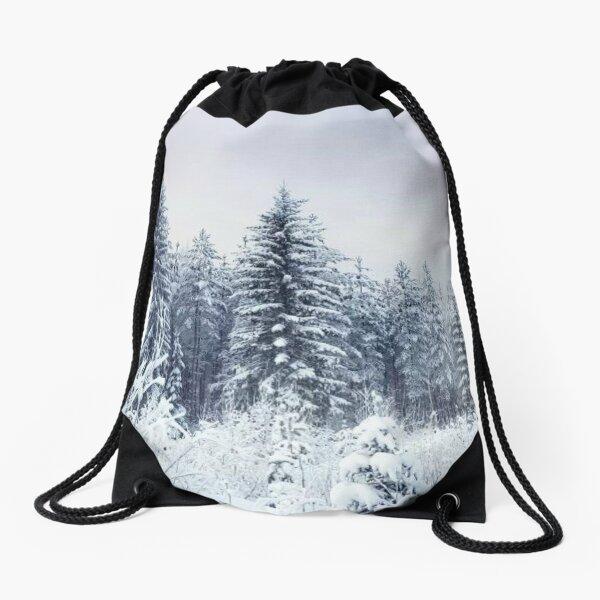 Where Christmas Trees Are Born Drawstring Bag