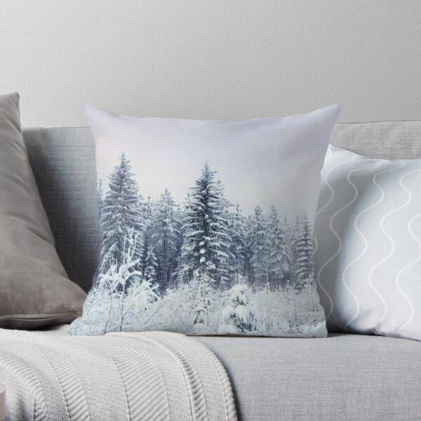 Where Christmas Trees Are Born Throw Pillow