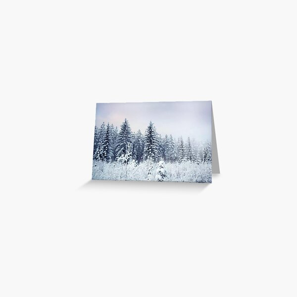 Where Christmas Trees Are Born Greeting Card