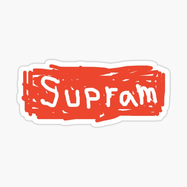 Supram  Sticker