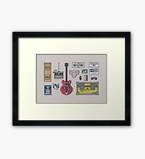 Time Travel - Essential Items Framed Print