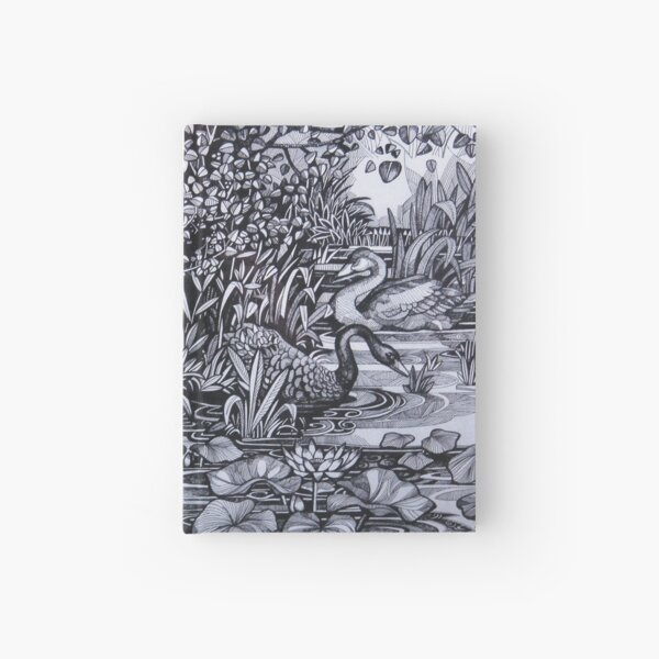 Sile river Hardcover Journal