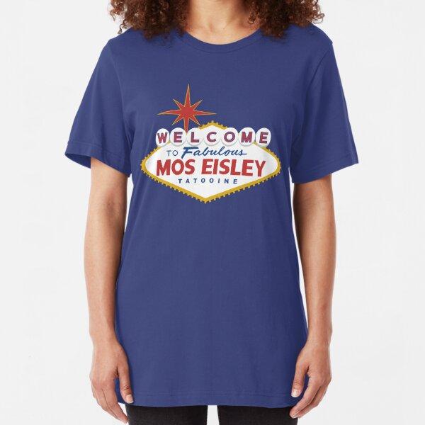 What Happens in Mos Eisley Slim Fit T-Shirt