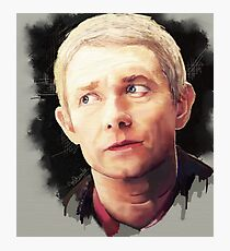 Martin Freeman as John Watson Photographic Print