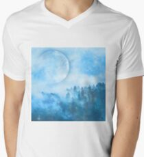 Blue sky Men's V-Neck T-Shirt
