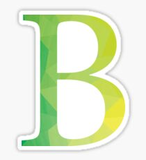 Beta-green Sticker