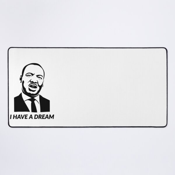 Quotes by martin luther king jr Desk Mat