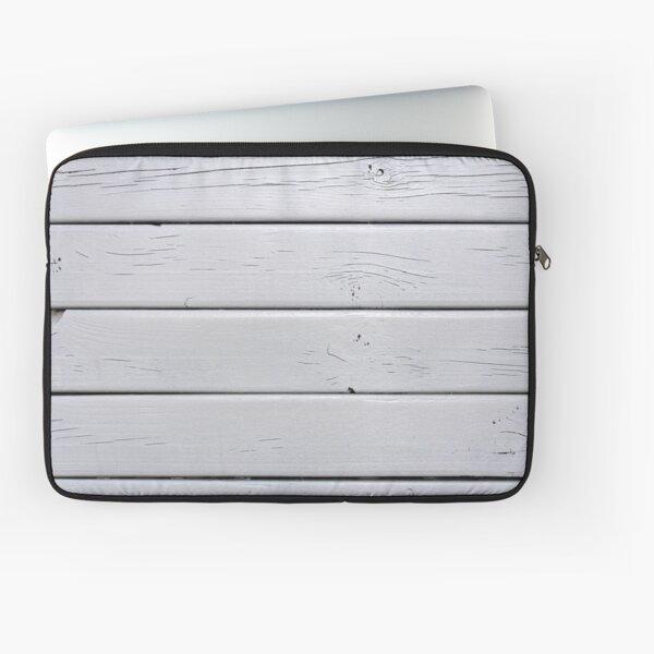 White Wood Laptop Sleeve